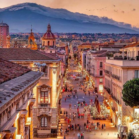 Catania, Via Etnea