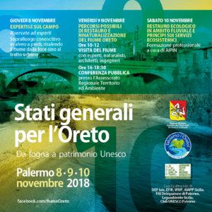 Stati generali per l'Oreto - 8,9,10 novembre 2018