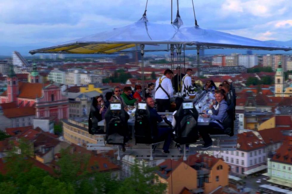 Vilnius - La Cena nel cielo